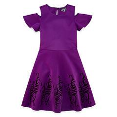 Cold ShoulderDescendants A-Line Dress - Big Kid Girls