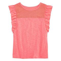 Arizona Short Sleeve T-Shirt-Big Kid Girls