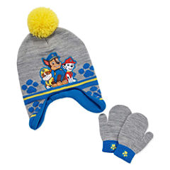 2-pc. Paw Patrol Hat & Glove Set-Toddler Boys