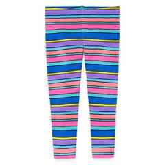 Okie Dokie Floral Knit Leggings - Toddler Girls