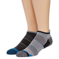 Xersion 2 Pack Ice Freeze Low Cut Tab Socks - Big