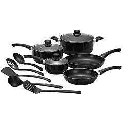 Cooks 13-pc. Essential Aluminum Nonstick Cookware Set