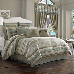 Queen Street® Nantucket 4-pc. Jacquard Chenille Comforter Set