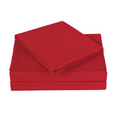 London Fog Microfiber Sheet Set with Extra Pillowcases