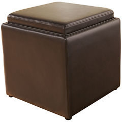 Signature Design by Ashley® Cubit Ottoman with Storage