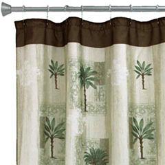 Bacova Citrus Palm Bath Shower Curtain