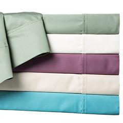 LCM Home Fashions 600TC Solid Sheet Set