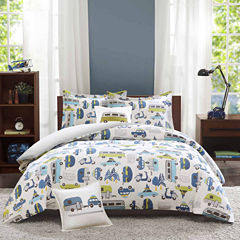INK+IVY Road Trip Duvet Cover Set