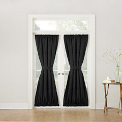 Montego Rod-Pocket Door Panel Curtain