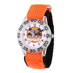Guardian Of The Galaxy Marvel Boys Orange Strap Watch-Wma000139