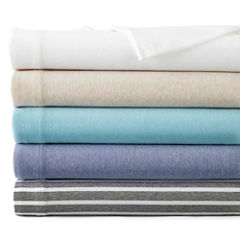 Home Expressions Jersey Knit Easy Care Sheet Sets and Pillowcases