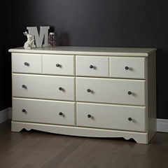 Country Poetry 6-Drawer Dresser