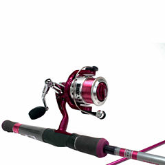 Zebco 33sp Lady Combo Spinning Combo Rod and Reel