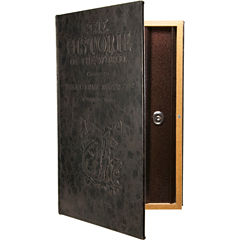 Barska® Large Antique Book Lock Box with Key Lock