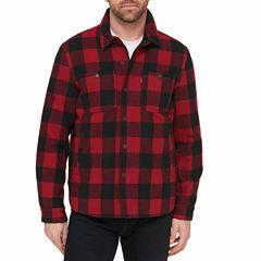 Levi's® Wool Blend Sherpa Lined Shirt Jacket