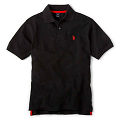U.S. Polo Assn.® Short-Sleeve Solid Polo - Boys 8-18