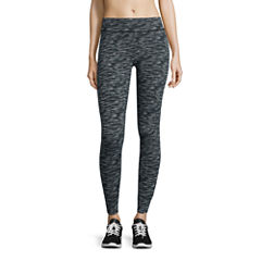 City Streets Pattern Jersey Leggings-Juniors