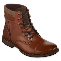 J.Ferrar Davidson Mens Lace Up Boots
