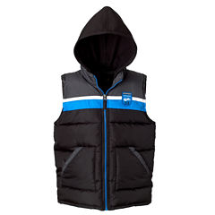 Colorblock Vest with Hood - Boys Preschool