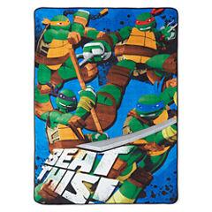 nickelodeon Teenage Mutant Ninja Turtles Blanket
