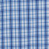 Blue Linear Plaid