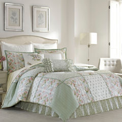 Laura Ashley Harper 4-pc. Comforter Set