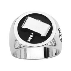 Marvel Thor Mens Two-Tone Stainless Steel Ring