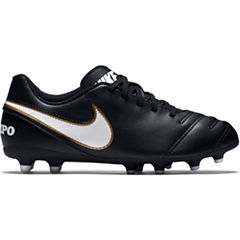 Nike® Jr. Tiempo Rio III FG Cleats - Little Kids/Big Kids
