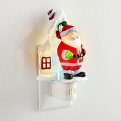 North Pole Trading Co. Santa Night Light