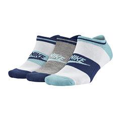 Nike 3-pc. No Show Socks - Womens