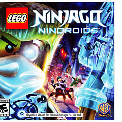 Lego Ninjago Nindroids Ninjago Video Game-Nintendo 3DS