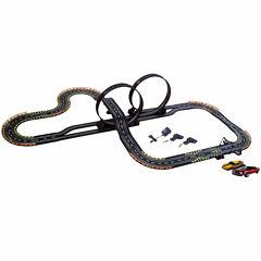 Electric Power Stunt Loop Road Racing Set