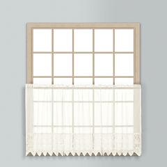 United Curtain Co Valerie Rod-Pocket Window Tiers