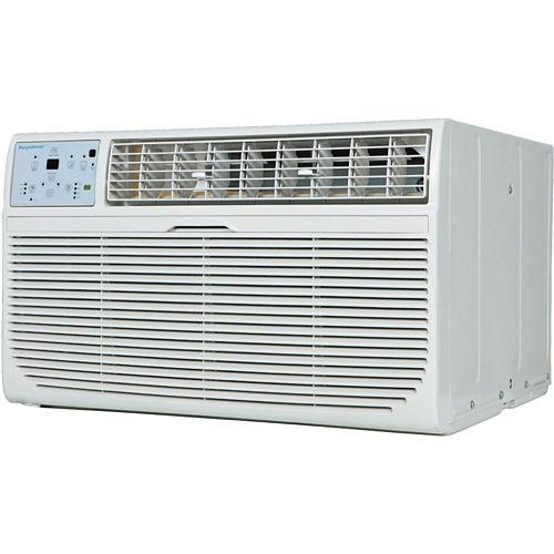 Keystone Energy Star 12000 BTU 115V Through-the-Wall Air Conditioner with Follow Me LCD Remote Control