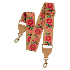 Interchangeable Embroidered Bag Strap