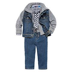 Arizona Jacket, Woven Shirt Or Jeans - Baby Boys 3m-24m
