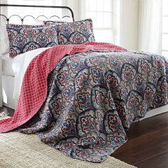 Pacific Coast Textiles Sanya Reversible Quilt Set
