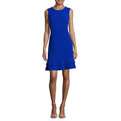 Ronni Nicole Sleeveless Sheath Dress-Petites