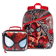 Spiderman Backpack with Lunch Box