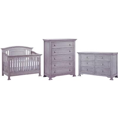 Centennial Medford 3 PC Baby Furniture Set  Grey