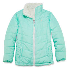 Vertical 9 Midweight Reversible Puffer Jacket - Girls-Big Kid