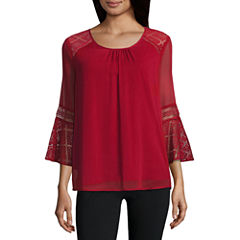 Alyx Crochet Sleeve Top