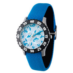 Discovery Kids® Blue and Black Multi-Shark Watch