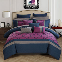 Chic Home Camilia 16-pc. Midweight Comforter Set