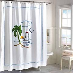 Destinations Tropical Isle Shower Curtain