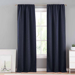 Lala+Bash Bash 2-Pack Blackout Curtain Panel