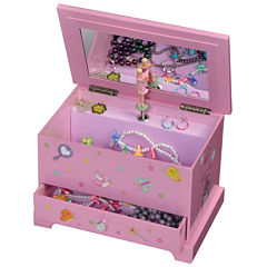 Mele & Co. Kerri Girls Musical Fairy Princess Jewelry Box