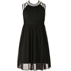 Speechless Beaded Sleeveless Maxi Dress - Girls' 7-16