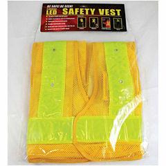 Maxsa Reflective Safety Vest With 16 Led Light
