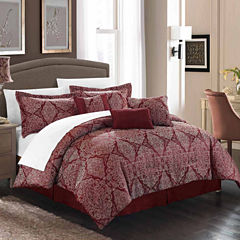 Chic Home Jessica 11-pc. Midweight Comforter Set